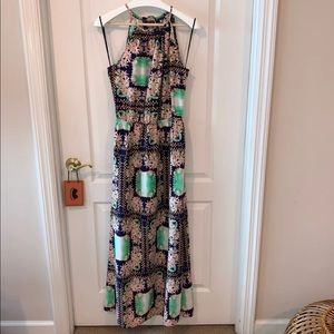 Forever 21 Tropical Print Maxi Dress